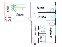 Budapest XV. ker eladó lakás Pólus Center 60m2 társasházi 1+2 félszobás ingatlan hirdetéshez feltöltött kép