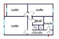 Budapest X. kerület eladó lakás Harmat u. 7. emelet 68m2 3 szoba ingatlan hirdetéshez feltöltött kép