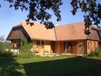 Szalafõ kiadó nyaraló 50m2 3 szoba Örseg legszebb falvaban összkomfortos ingatlan hirdetéshez feltöltött kép